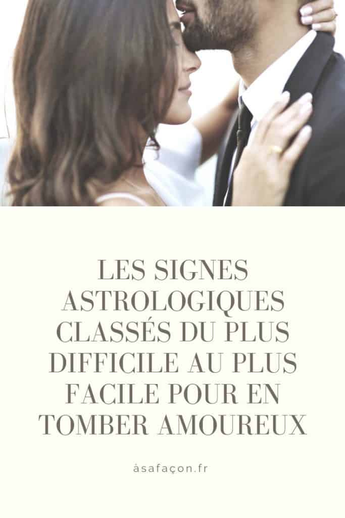 Les Signes Astrologiques Classés Du Plus Difficile Au Plus Facile Pour En Tomber Amoureux