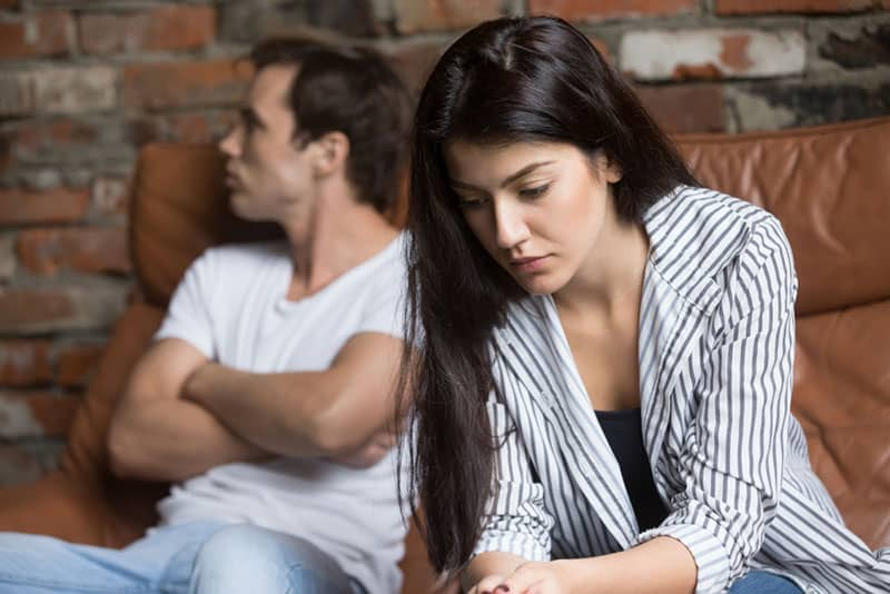 couple triste rompre