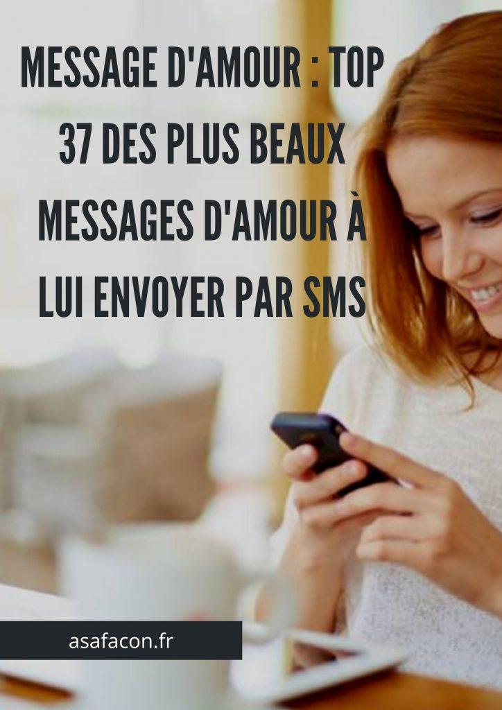 Message D'amour : Top 37 Des Plus Beaux Messages D'amour À Lui Envoyer Par Sms