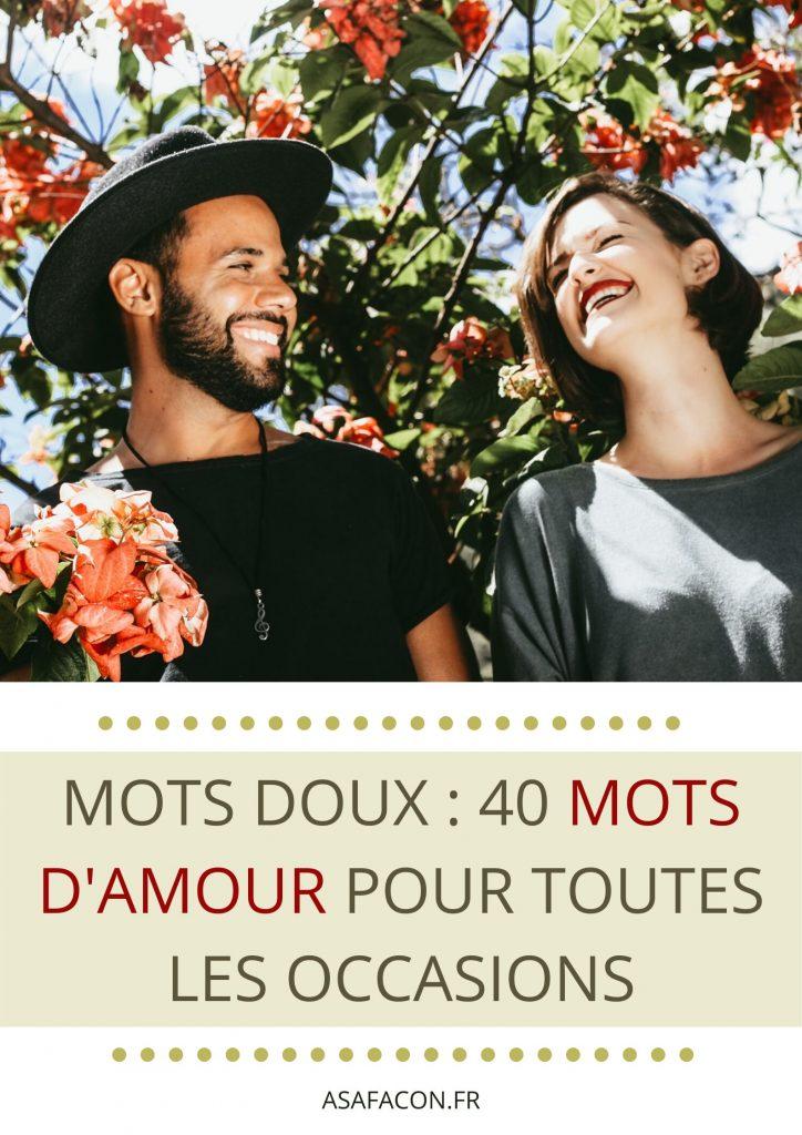 Mots Doux : 40 Mots D'amour Pour Toutes Les Occasions