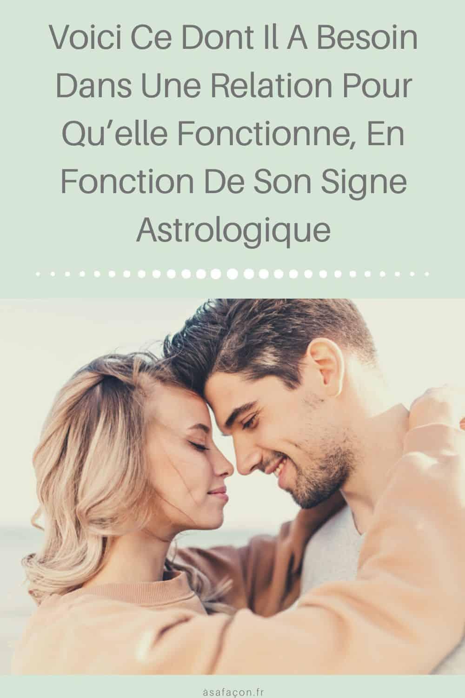 Voici Ce Dont Il A Besoin Dans Une Relation Pour Qu'elle Fonctionne, En Fonction De Son Signe Astrologique