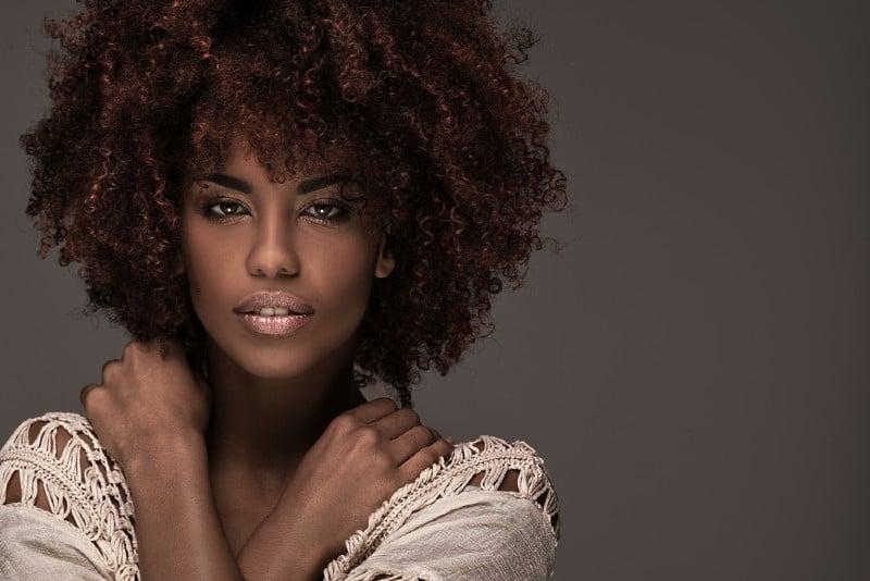 portrait d'une femme africaine
