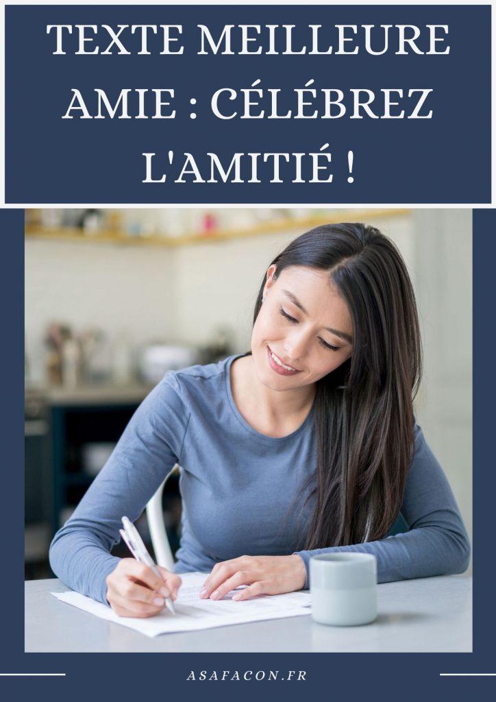 Texte Meilleure Amie : Célébrez L'amitié !