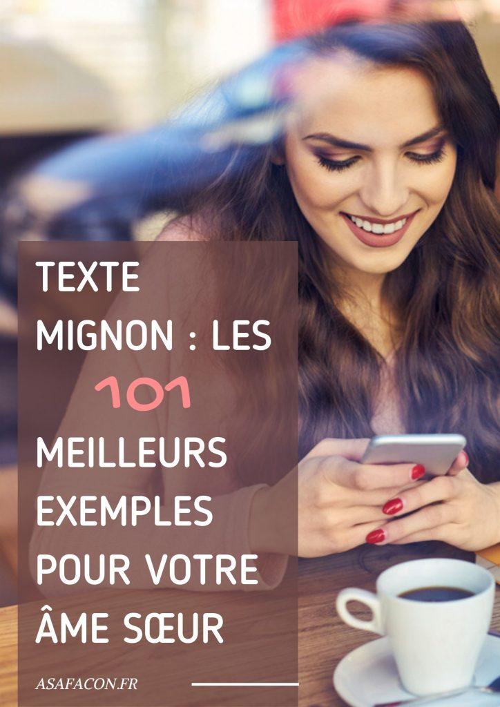 Texte Mignon : Les 101 Meilleurs Exemples Pour Votre Âme Sœur