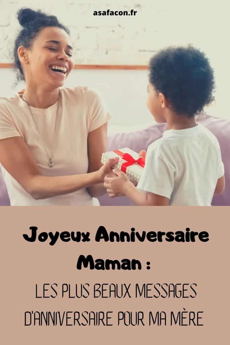 Joyeux Anniversaire Maman Les Plus Beaux Messages D'anniversaire Pour Ma Mère