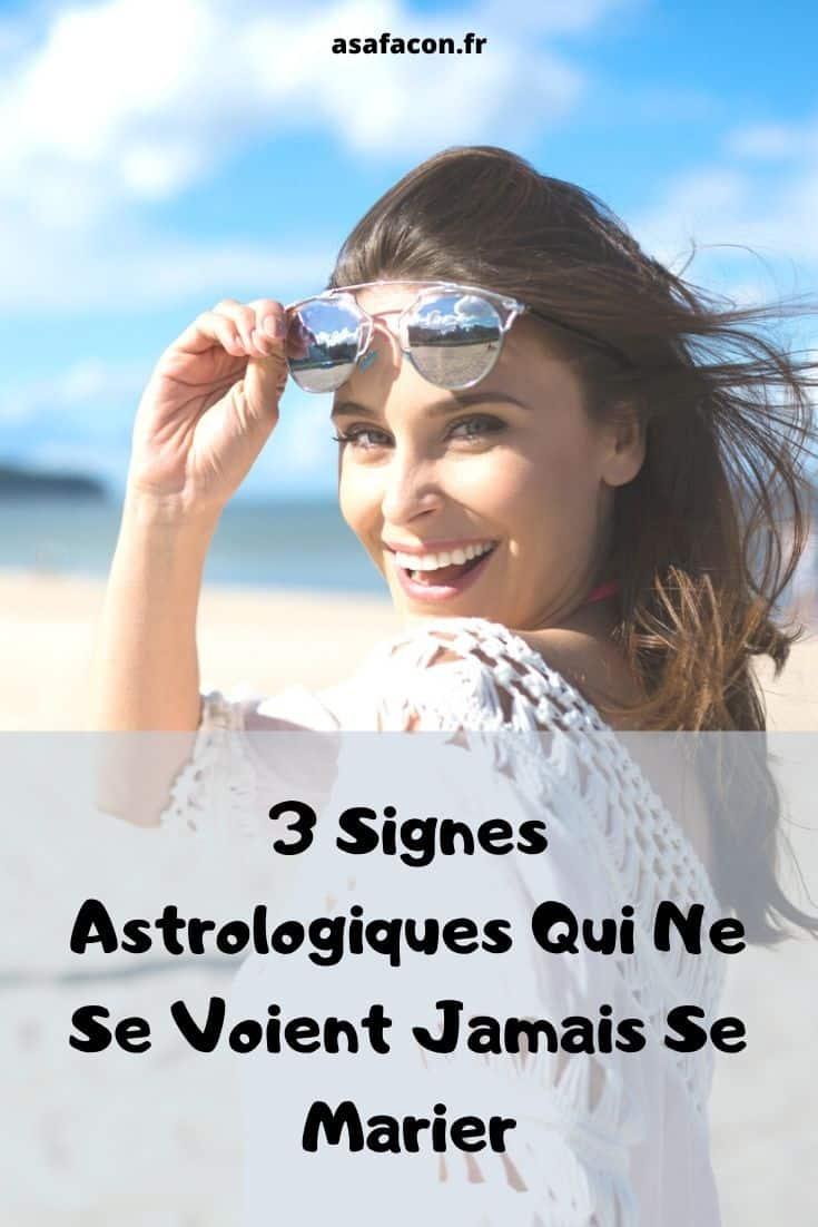 3 Signes Astrologiques Qui Ne Se Voient Jamais Se Marier