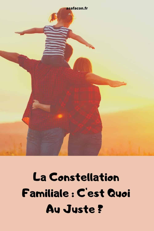 La Constellation Familiale C'est Quoi Au Juste