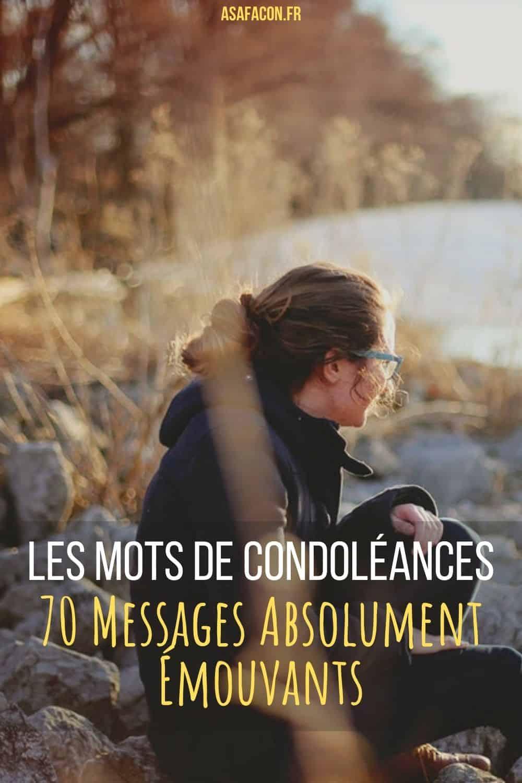 Les Mots De CondoléAnces : 70 Messages Absolument Émouvants