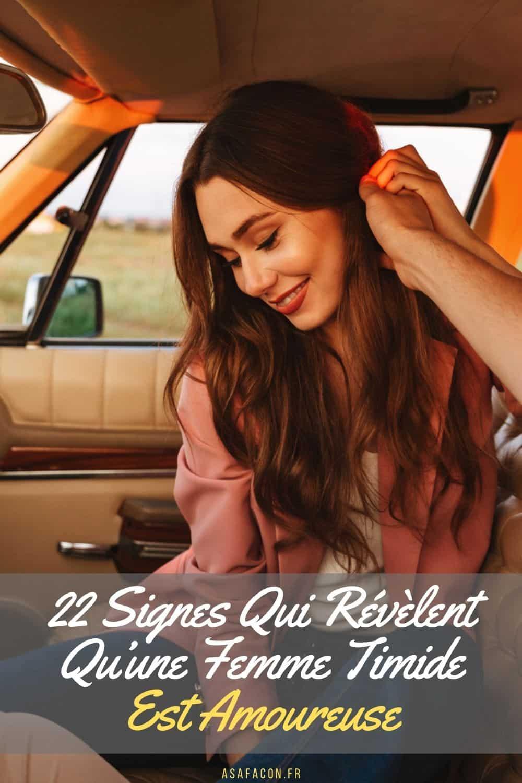 22 Signes Qui Révèlent Qu'une Femme Timide Est Amoureuse
