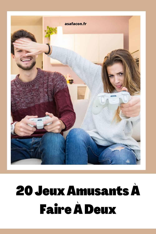 20 Jeux Amusants À Faire À Deux
