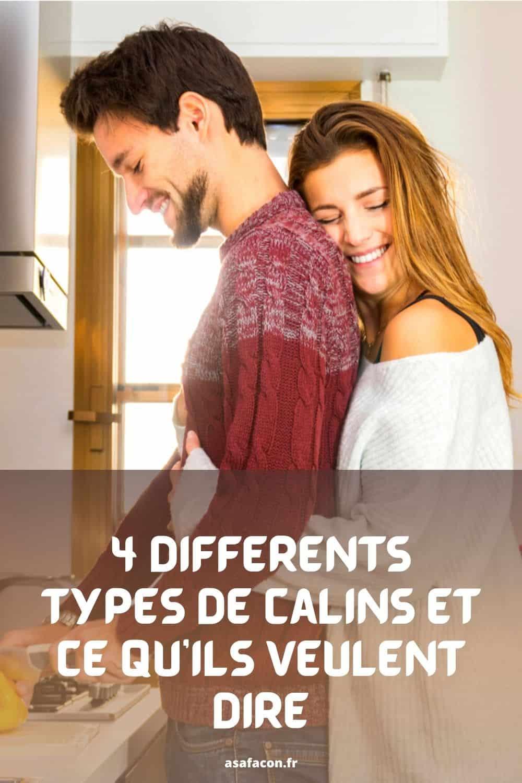 4 Différents Types De Câlins Et Ce Qu'ils Veulent Dire